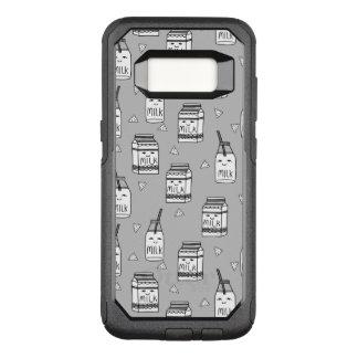 Milk & Cookies Grey Kids Food / Andrea Lauren OtterBox Commuter Samsung Galaxy S8 Case