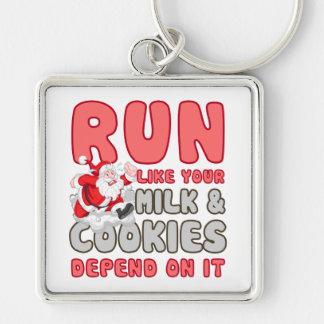 Milk & Cookies Keychain