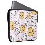 Milk & Cookies Laptop Computer Sleeve