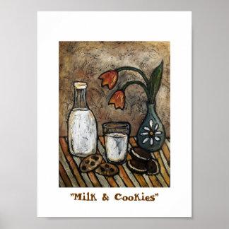 """""""Milk & Cookies"""" Poster"""