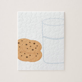 Milk & Cookies Jigsaw Puzzle