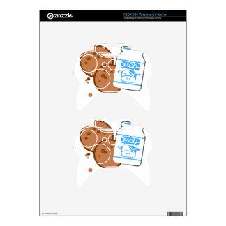 Milk & Cookies Xbox 360 Controller Decal