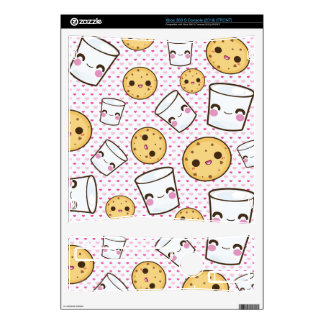 Milk & Cookies Xbox 360 S Console Decal