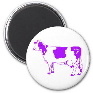 Milk Cow Silhouette Beef Cattle Moo Bull Steer Magnets