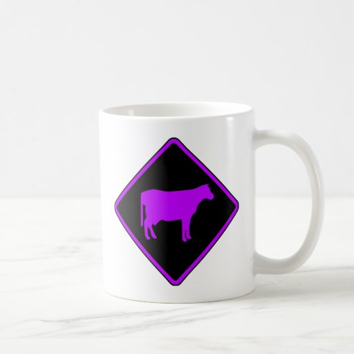Milk Cow Silhouette Beef Cattle Moo Bull Steer Classic White Coffee Mug