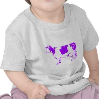 Milk Cow Silhouette Beef Cattle Moo Bull Steer T Shirt