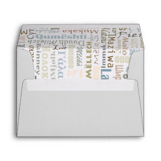 Milk Envelope