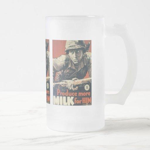Milk For Him World War 2 Coffee Mug