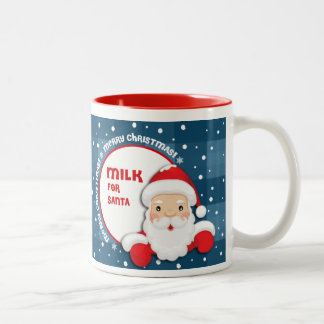 Milk for Santa Claus. Christmas Gift Mugs