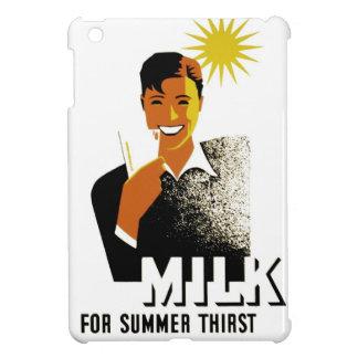 Milk for Summer Thirst iPad Mini Cases
