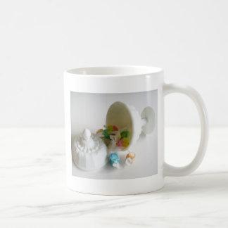 Milk Glass Candy Dish Mugs
