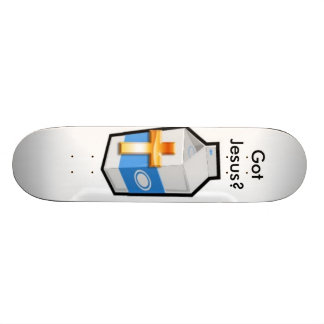 milk, Got Jesus? Skateboard Deck