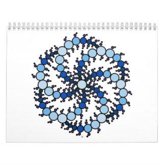 Milk Hill Blue Crop Circle Calendar