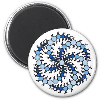 Milk Hill Blue Crop Circle Magnet
