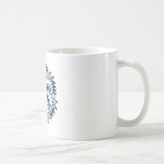 Milk Hill Blue Crop Circle Mug