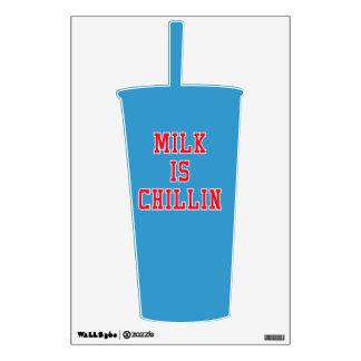 Milk Is Chillin Wall Sticker