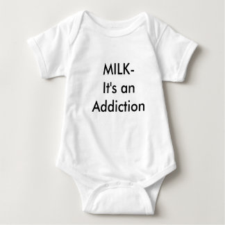 MILK-It's an Addiction Baby Bodysuit