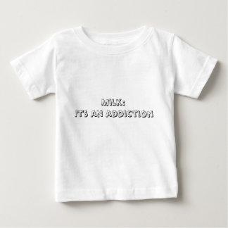 Milk:It's an addiction Tee Shirt