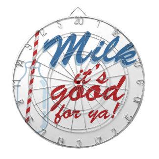 Milk Its Good Dart Board