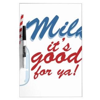 Milk Its Good Dry Erase Board