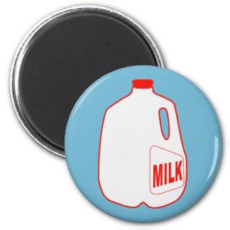 Milk Jug 2 Inch Round Magnet