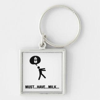Milk Lover Key Chain
