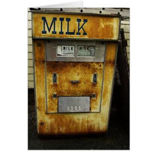 Milk Machine Greeting Card