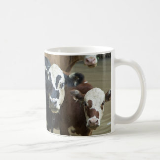 Milk Maids Classic White Coffee Mug