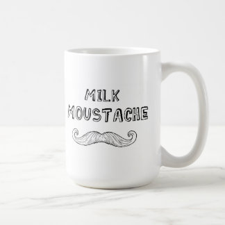 Milk Moustache Coffee Mug