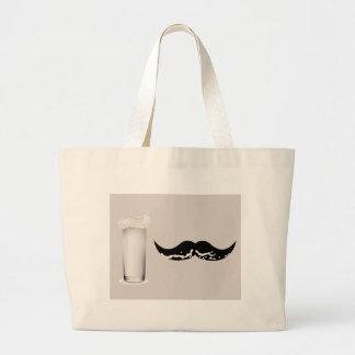 Milk Mustache Creme Bag