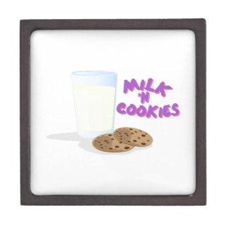 Milk N Cookies Premium Trinket Boxes