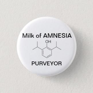 Milk of AMNESIA Pinback Button