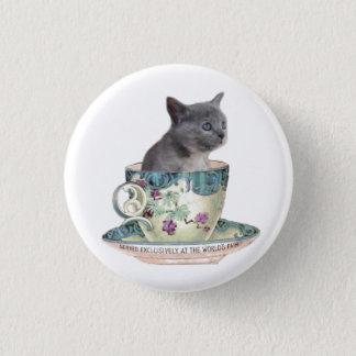 Milk or sugar? kitten button