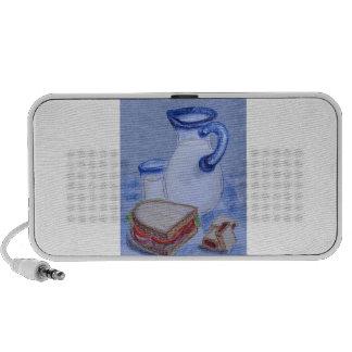 Milk Pitcher and Glass Travel Speaker