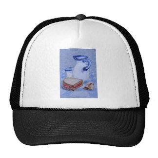 Milk Pitcher and Glass Trucker Hat