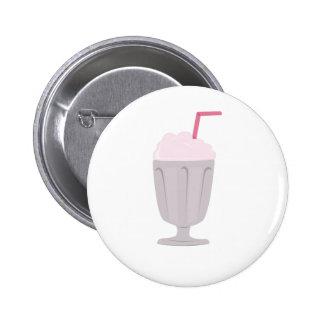 Milk Shake 2 Inch Round Button