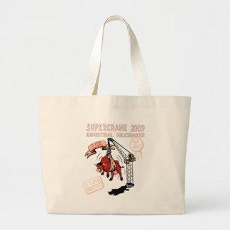 Milk Shake Machine ~ Funny New Invention Jumbo Tote Bag
