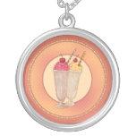 Milk Shake with Cherry Custom Jewelry