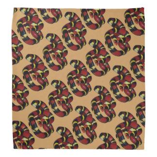 Milk snake bandana