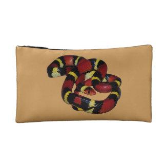 Milk snake makeup bag