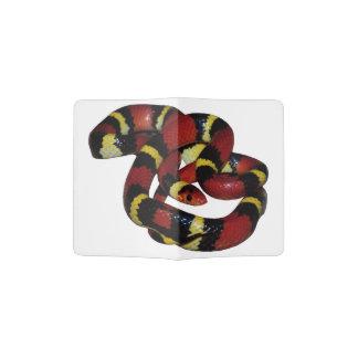 Milk snake passport holder