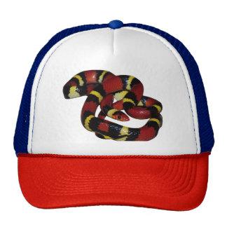 Milk snake trucker hat