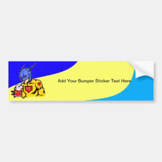 Milk Super Food Car Bumper Sticker
