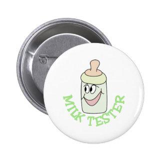 Milk Tester Button