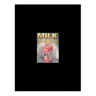 Milk - the Deadly Poison Postcard