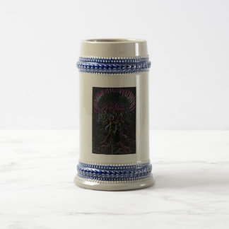 Milk Thistle Beer Stein