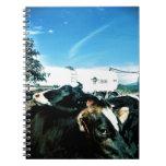 milk truck note book