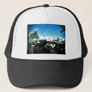 milk truck trucker hat