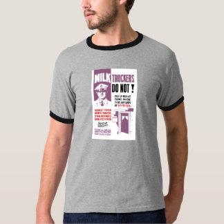 Milk Trucker FDA Warning T-Shirt