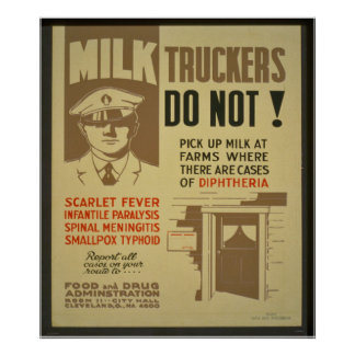 Milk Truckers Poster